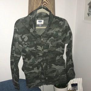 Old Navy Camouflage Jacket